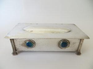 Former Jesson & Birkett design casket made by A. E. Jones.