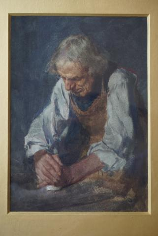 Retirement present given by W.F. Wainwright to E.R. Taylor